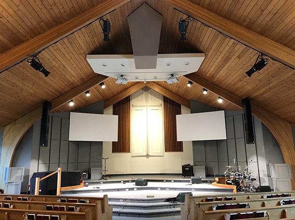 Renkus-Heinz Heads Sonic Upgrade By Golden West Sound At Winnipeg Church