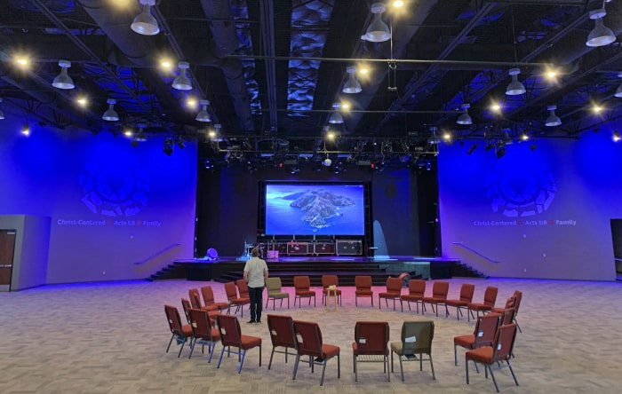 Nevada Church Equipped With New Audio System Headed By d&b audiotechnik
