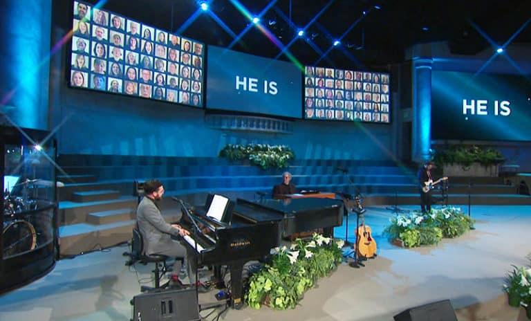 Virtual Becomes A Reality: A California Church Delivers Its Large Choir Remotely – And In Real Time