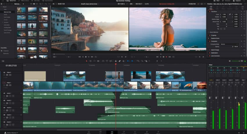 Blackmagic Design Announces DaVinci Resolve 17.1