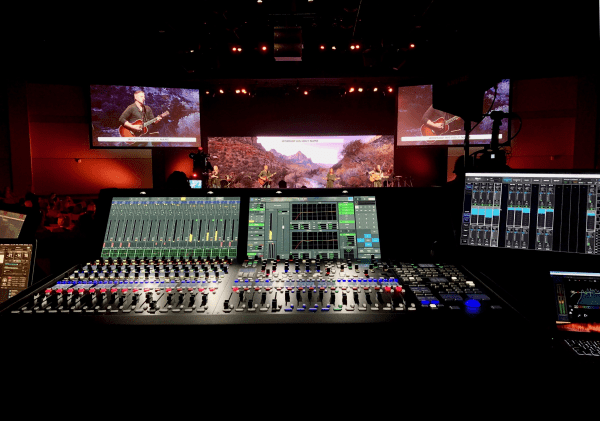 Virginia Church Shifts To AoIP, Expands Mix Capacity With Lawo Console
