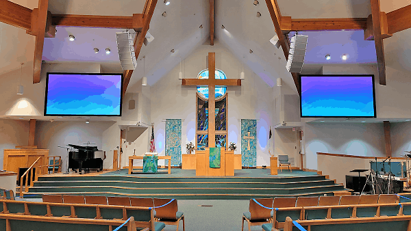 RCF Line Arrays At Heart Of New Multi-Use System At Florida Church