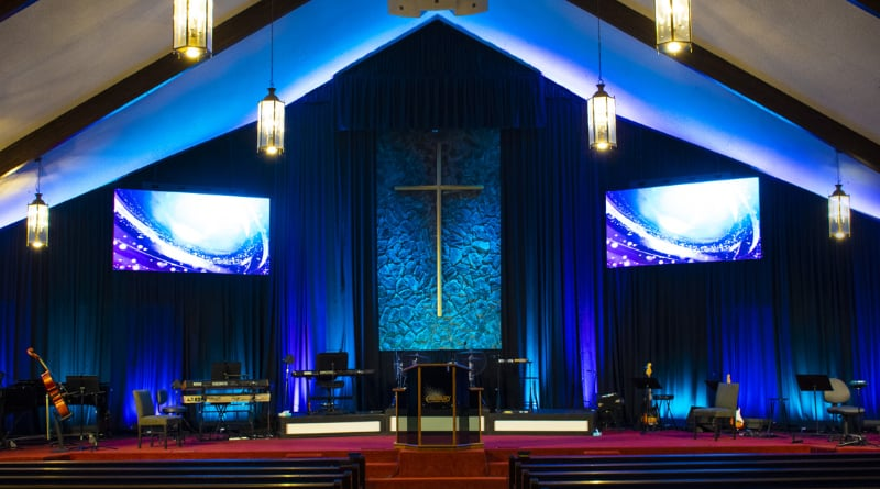 Calvary Christian Center In California Upgrades With ADJ Video & Elation Lighting
