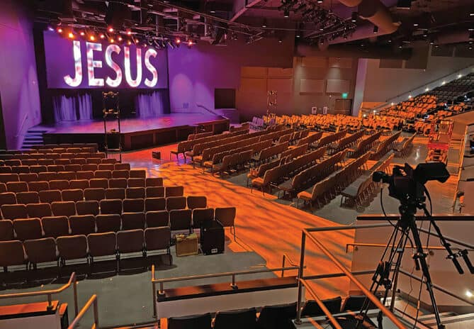 Inside The Integrated AVL Systems Approach For The New Whittier Area Community Church In California