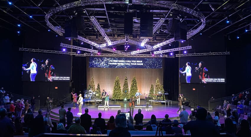 Nevada Church Transitions To New Building With Notable AVL Upgrades