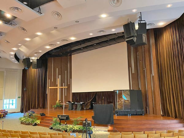 Danley Sound Labs Heads Up New Sanctuary Audio System At Large Church In Singapore