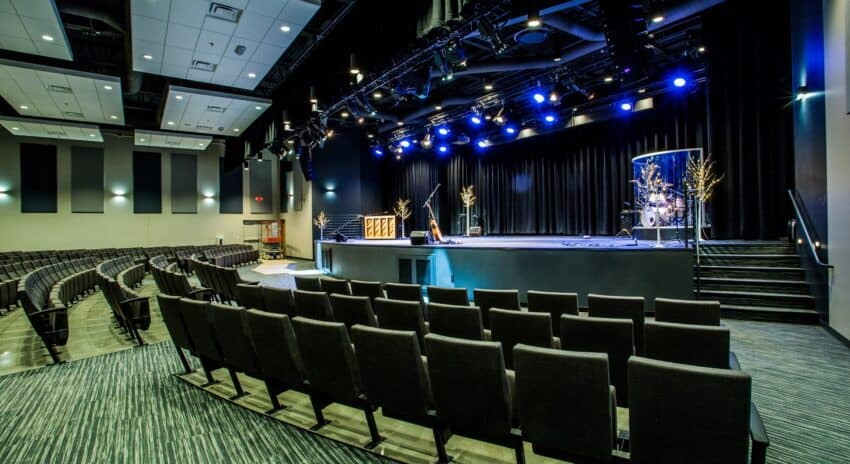 New Sanctuary At Life Baptist Church Opens With Elation Lighting System